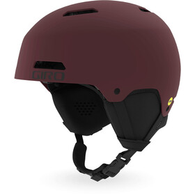 Giro Ledge FS MIPS Casque Homme, matte ox red